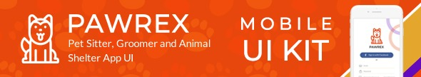 Pawrex: Pet Sitter, Groomer and Animal Shelter Html5 RTL Template - 1